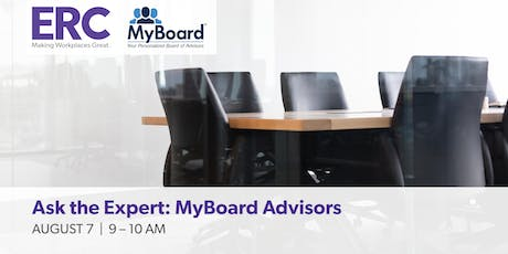 Ask the Expert: MyBoard Advisors tickets