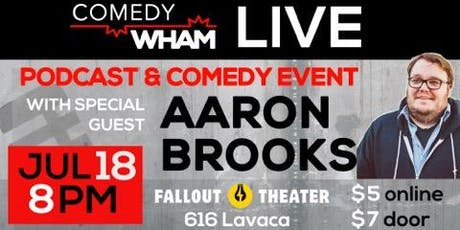 Comedy Wham ft Aaron Brooks tickets
