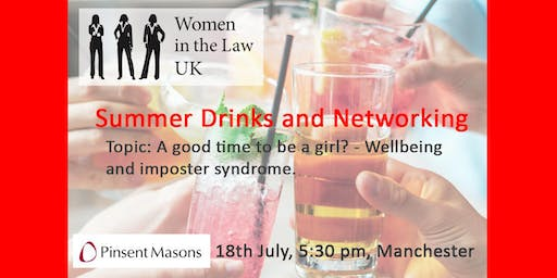 MANCHESTER - Summer drinks SOLD OUT