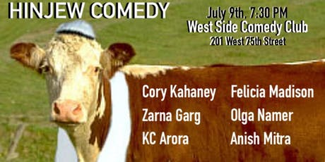 Hinjew Comedy August 6th tickets