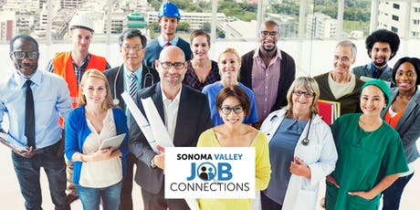 Sonoma Valley Job Connections - Job Fair - Attendees tickets