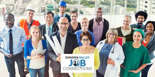 Sonoma Valley Job Connections - Job Fair - Attendees