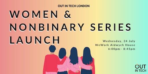 Out in Tech London | Women & Nonbinary Series Launch