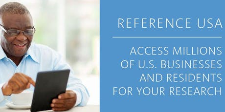 Marketing Your Business Using ReferenceUSA tickets