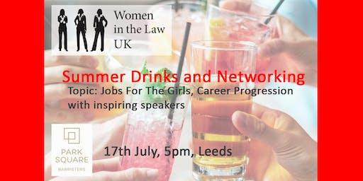 LEEDS -  WOMEN IN THE LAW UK LEEDS SUMMER DRINKS AND NETWORKING