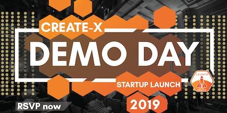 CREATE-X Demo Day tickets