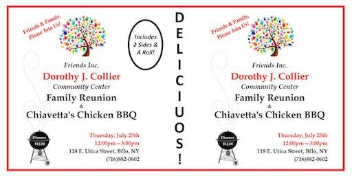 Dorothy J. Collier Center- Chiavetta's BBQ Chicken Dinner Fundraiser