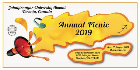 Annual Picnic 2019 - Jahangirnagar University Alumni in Canada tickets