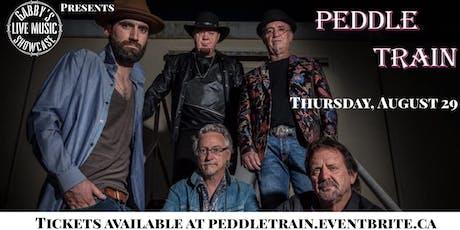 Peddle Train - Gabby's Live Music Showcase  tickets