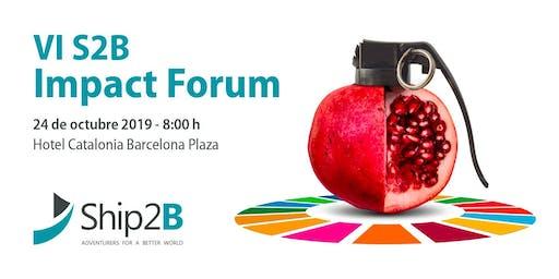 VI S2B Impact Forum 2019