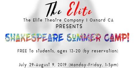 Shakespeare Summer Camp tickets