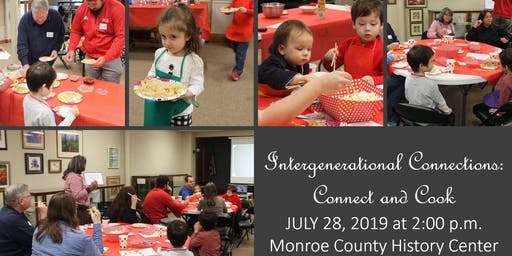 Intergenerational Connections: Connect and Cook