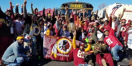 DIESEL'S WASHINGTON REDSKIN 2019 NFL SEASON KICK-OFF CELEBRATION tickets
