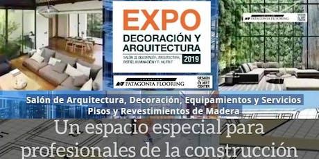 Acreditación SIN CARGO  Jornadas Sorteos  4°Expo Decoracion Expo Arquitectura Expo Interiorismo  Decoración Iluminación Madera Muebles entradas