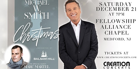 Balsam Hill presents Michael W. Smith Christmas with Marc Martel tickets