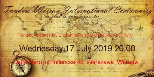 Tandem Wednesday English Meeting