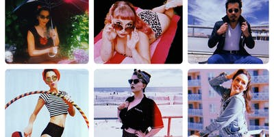 Fabulous 50's Burlesque Beach Bash