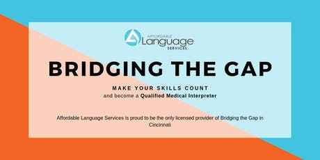 Bridging the Gap: 40 Hour Medical Interpreter Training tickets