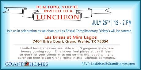 Realtor Lunch at Las Brisas at Mira Lagos tickets