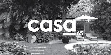 CASA 65 - II EDIÇÃO ingressos
