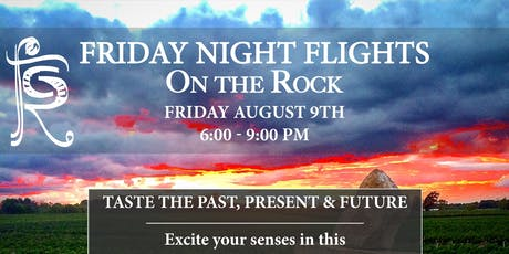 FRIDAY NIGHT FLIGHTS: TASTE THE PAST, PRESENT AND FUTURE tickets