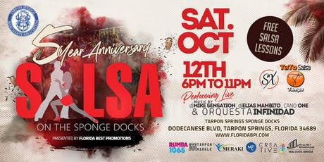 SALSA on the Sponge Docks  tickets