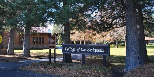 College of the Siskiyous Extended Orientation (SISKIYOU PROMISE & OTHER)