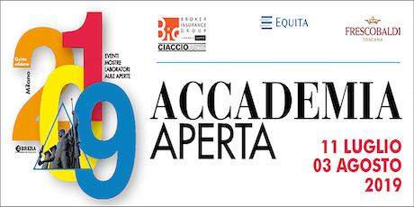 Accademia Aperta 2019 biglietti