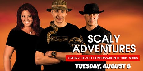 Scaly Adventures – Greenville Zoo Conservation Lecture Series tickets