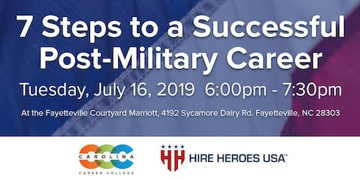 CCC Seminar: 7 Steps to a Successful Post-Military Career