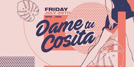 Dame Tu Cosita: Rob Dinero & Chato tickets