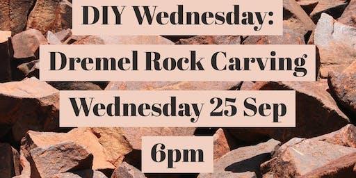 DIY Wednesdays: Dremel Engraving Rocks