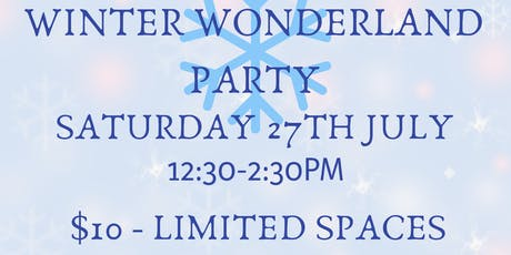 Winter Wonderland Party - 5-10 year olds tickets