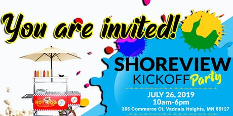 Shoreview Kickoff tickets