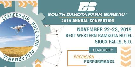 South Dakota Farm Bureau 102nd Annual Convention tickets