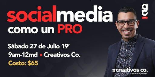 Social Media como un PRO