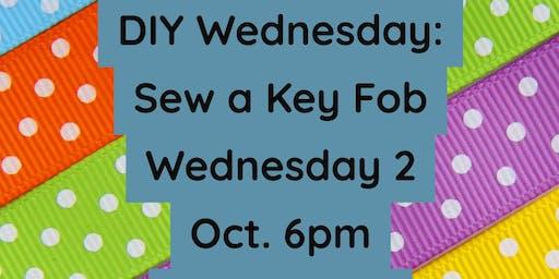 DIY Wednesdays: Sew Your Own Key Fob