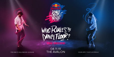 Red Bull Dance Your Style Qualifier Los Angeles tickets