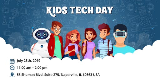 Kids Tech Day | Hosted by Royal Cyber Inc