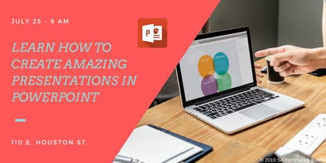 Learn to Create Amazing Powerpoint Presentations tickets