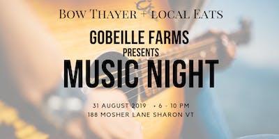 Gobeille Farms Music Night