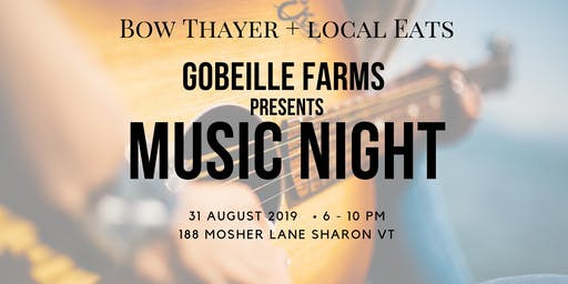 Gobeille Farms Music Night
