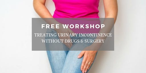Treating Urinary Incontinence Without Drugs & Surgery