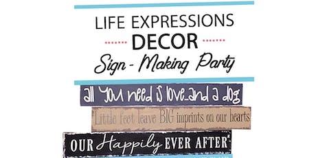 Sign Paint Evening tickets