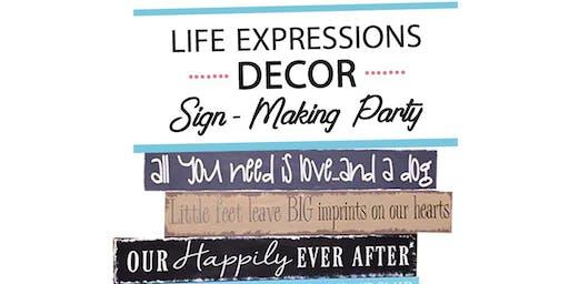 Sign Paint Evening