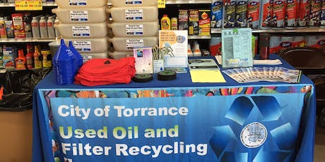 City of Torrance Used Oil Filter Exchange @ AutoZone (at Hawthorne & Artesia) tickets