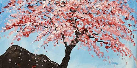 Cherry Blossom Brush and Tipple 12 Sept tickets