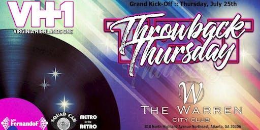 Throwback Thursday @ The Warren City Club