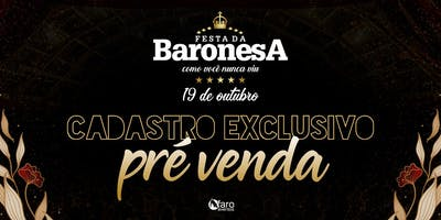 Cadastro Festa da Baronesa 2019