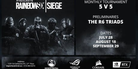 Rainbow Six Monthly Tournament (July 28th) tickets